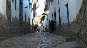 Cuzco Cobble Stone Street